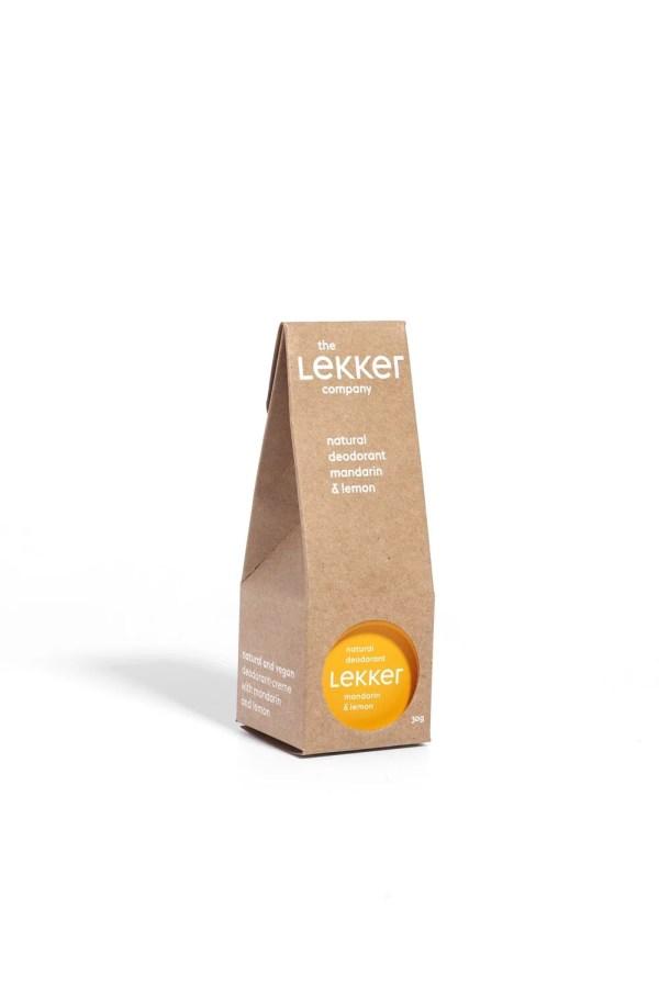 The Lekker Company | Déodorant Mandarine Citron | 30 ml 1