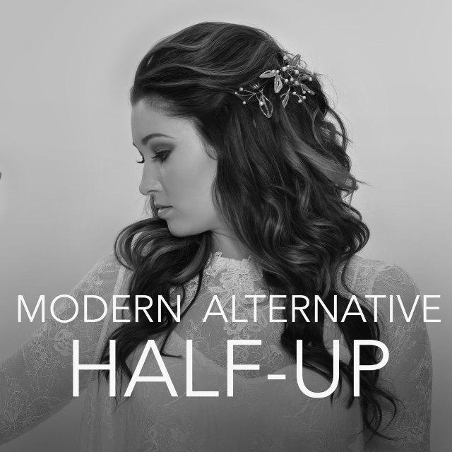 modern alternative half-up - luxbar