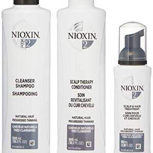 Nioxin Hair Care Kit System 2 for Fine Hair with Progressed Thinning