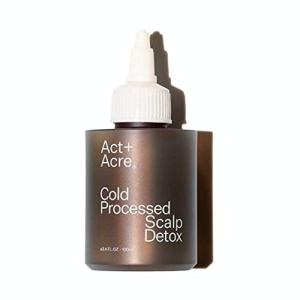Act+Acre- Cold Processed Scalp Detox removes product build-up
