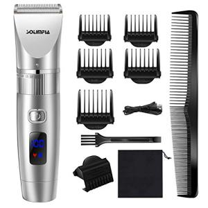 SOLIMPIA Professional Hair Clipper for Men Cordless Hair Clippers