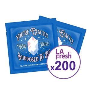 LA Fresh Oil Free Face and Hand Refreshing Wipes