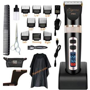 Professional hair clipper, ultra quiet design, 2000mAH Li-ion battery