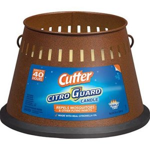 Cutter Citro Guard Citronella Candle, Triple Wick
