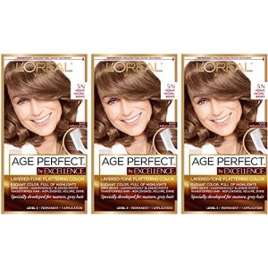 L'Oreal Paris Hair Color Age Perfect By Excellence Layered Tone Flattering Color