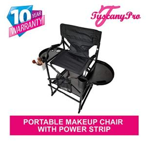 TUSCANY PRO Tall Makeup Chair w/POWER STRIP