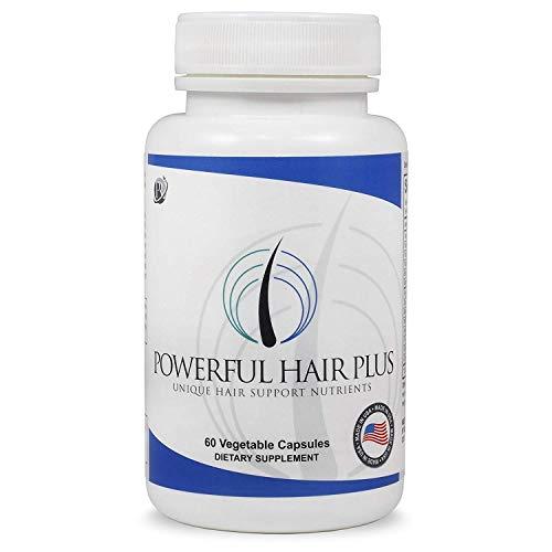 Powerful Hair Plus, Unique Hair Vitamins with Biotin For Hair