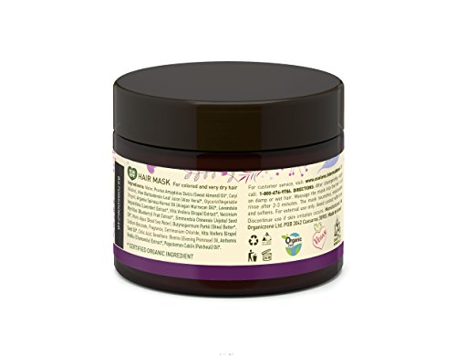 ecoLove - Deep Conditioning Hair Mask for Dry Damaged Hair & Color Treated Hair