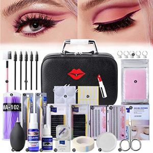 22PCS False Eyelashes Extension Practice Exercise Set
