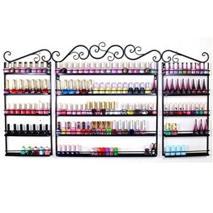 Yaheetech 3PCS Nail Polish Display Wall Rack 5 Layers Nail Polish