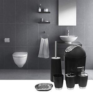SANT LIFE 6 Piece Bathroom Accessories Set, Luxury Bath Sets Lotion Dispenser
