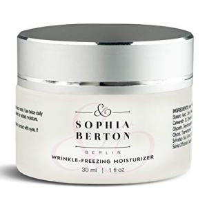 Sophia Berton Premium Wrinkle Freezing Moisturizer for Firm Skin Structure