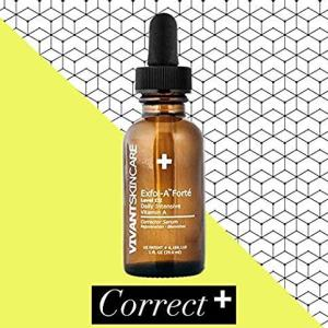 Vivant Skin Care Exfol-A-Forté | Vitamin A, Glycolic Acid, Lactic Acid