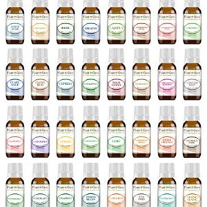Ultimate Essential Oil Set 32-10 ml 100% Pure Therapeutic Grade