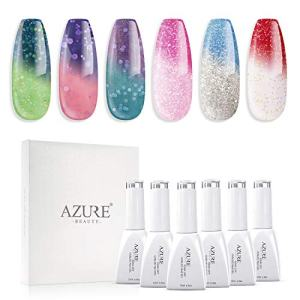 UV LED Gel Nail Polish Set Mood Color Changing Gel Polish Set