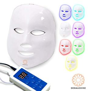 Dermashine Pro 7 Color LED Face Mask | Photon Red Light Therapy