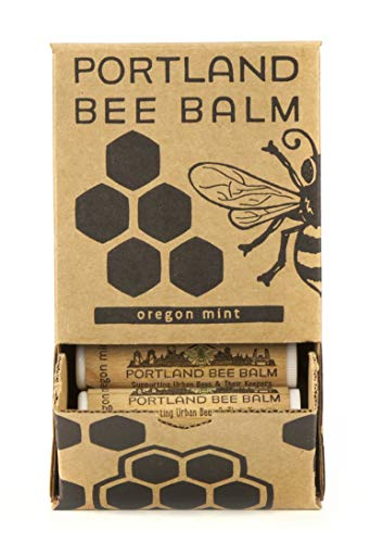 Portland Bee Balm, Beeswax Based Lip Balm - Oregon Mint