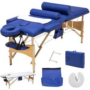 Uenjoy Folding Massage Table 84'' Professional Massage Bed Luxury-Model