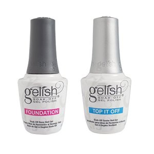 Gelish Dynamic Duo Foundation Base & Top It Off Sealer Soak