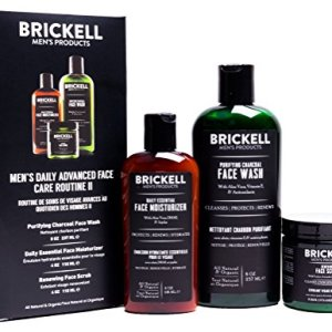Brickell Men's Daily Advanced Face Care Routine II