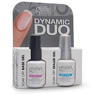 "Harmony Gelish Dynamic Duo Soak-Off Gel Polish""Foundation + Top It Off"""