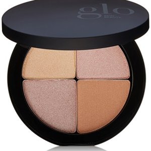 Glo Skin Beauty Shimmer Brick in Luster | Face Highlighter Palette Set