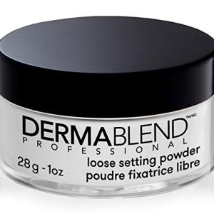 Dermablend Loose Setting Powder, Translucent Powder for Face Makeup