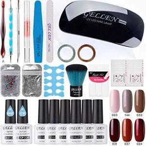 Gellen Gel Polish Starter Kit - Fashion Lady 6 Colors