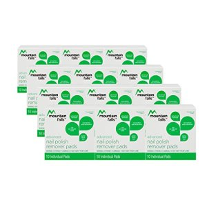 Mountain Falls Advanced Formula Nail Polish Remover Pads