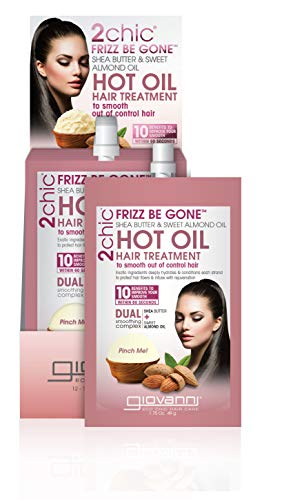 Giovanni Hair 2chic Frizz Be Gone Hot Oil Treatment