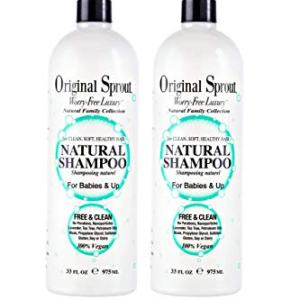 Original Sprout Natural Shampoo. Organic Sulfate Free Shampoo