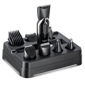 Beard Trimmer Grooming Kit for Men, Cordless Electric Hair Clipper