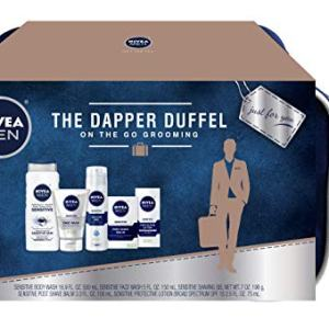 NIVEA Men Dapper Duffel Gift Set - 5 Piece Collection