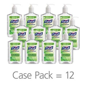 PURELL Naturals Advanced Hand Sanitizer Gel, with Skin Conditioners and Essential