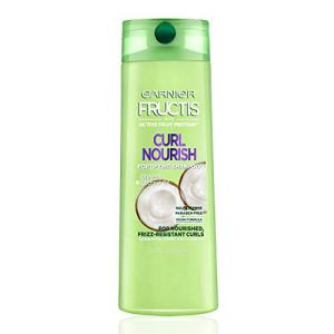 Garnier Fructis Curl Nourish Sulfate-Free and Silicone-Free Shampoo Infused