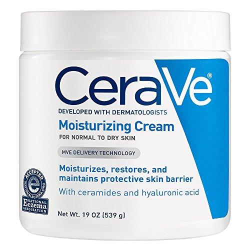 CeraVe Moisturizing Cream   19 Ounce   Daily Face and Body Moisturizer