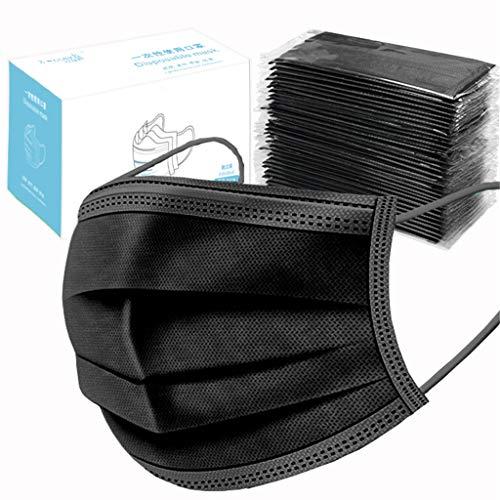 TIANMI 50Pcs Disposable Sanitary Face Masks,Earloop Anti Dust Virus Masks
