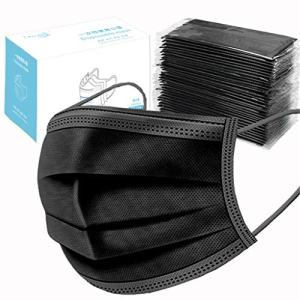 TIANMI 50Pcs Disposable Sanitary Face Masks,Earloop Anti Dust Virus Masks