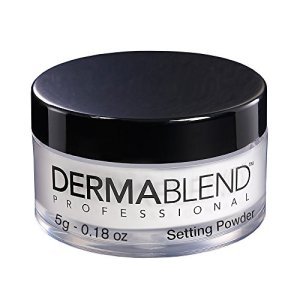 Dermablend Loose Setting Powder, Translucent Powder for Face Makeup, Mattifying Finish and Shine Control,.18oz