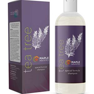 Pure Tea Tree Oil Shampoo - Natural Essential Oil Anti-Dandruff Shampoo