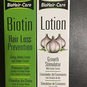 BioHair-Care Biotin Hair Loss Prevention + Growth Simulator Lotion