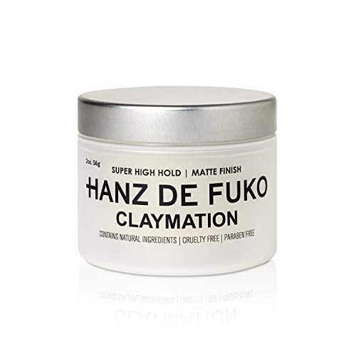 Hanz de Fuko Claymation- Premium Mens Hair Styling Clay with Matte Finish