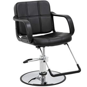 Barber Chair Salon Chair Styling Chair Heavy Duty Beauty Salon Barber Swivel Chairs
