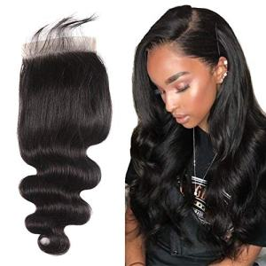 Alipearl Hair 6×6 Lace Closure Body Wave Human Hair 8A Brazilian Virgin Hair Free
