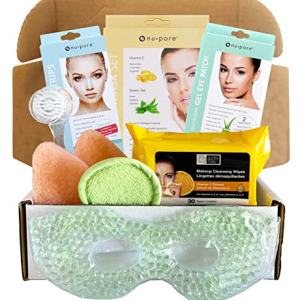 Facial Kit For Women - Includes Face Mask, Facial Wipes, Nose Strips