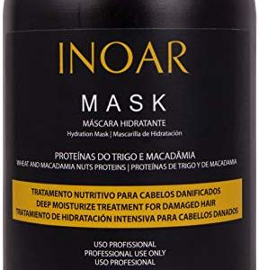 INOAR PROFESSIONAL - Macadamia Oil Premium Mask - Unique Blend