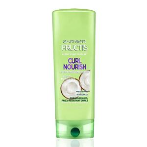 Garnier Fructis Curl Nourish Paraben-free Conditioner Infused with Coconut Oil