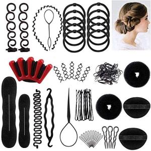 LHAAAYF Hair Styling Set, Fashion Hair Design Styling Tools Accessories