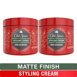 Old Spice, Styling Cream for Men, Medium Hold Hair Treatment