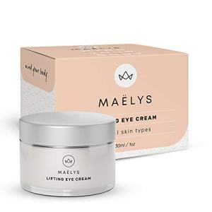 Lifting Eye Cream | Reduce Wrinkles, Puffiness and Under Eye Circles - for Men and Women by Maelys Cosmetics, 1 oz